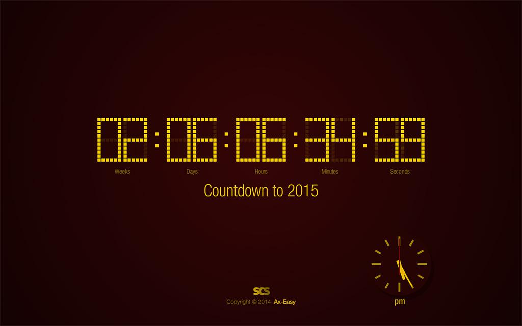 Countdown to 2015 Screenshot