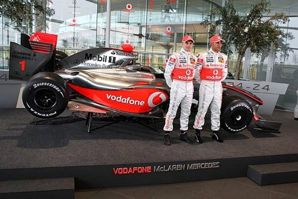 McLaren MP4-24, Lewis Hamilton and Heikki Kovalainen