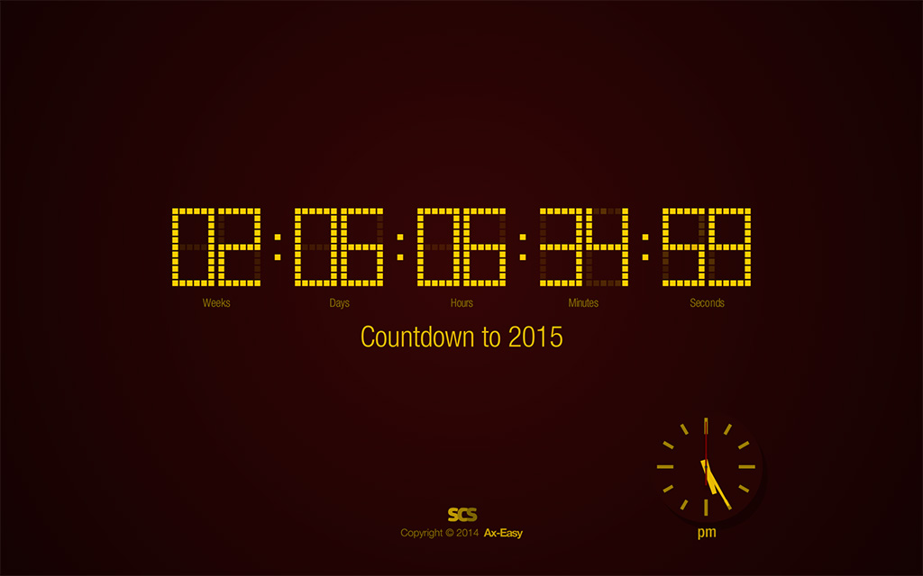 Countdown to 2015 Screenshot
