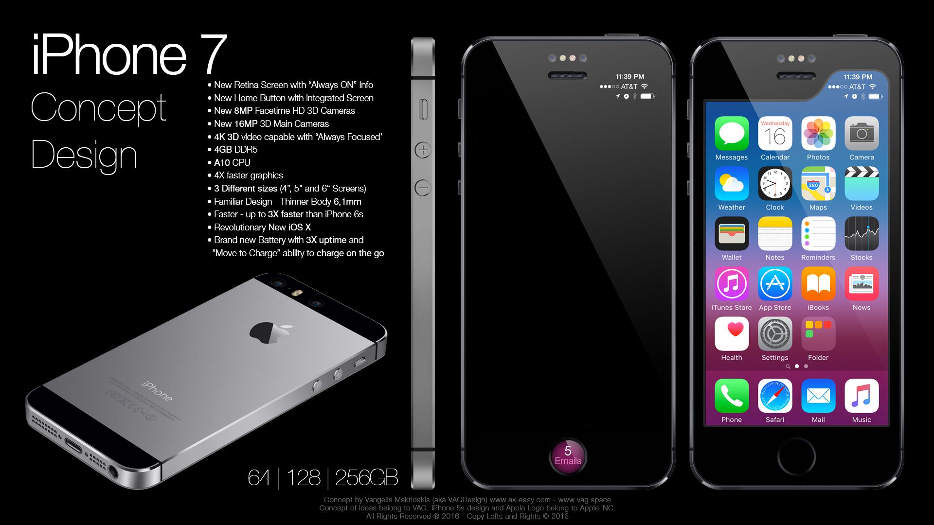 iPhone 7 Concept by VAG