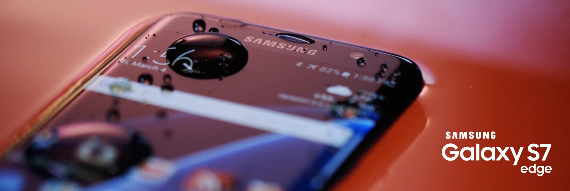 Samsung Galaxy S7 Edge water resistant IP68